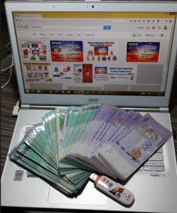 Buat duit dengan handphone 100% online